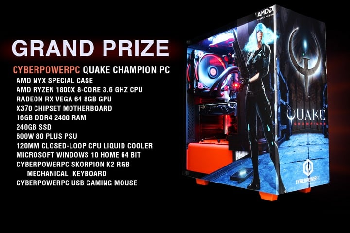 Win CyberPowerPC Gaming PC, AMD Gaming PC Starter Kit, PC Games - #Giveaways (US)