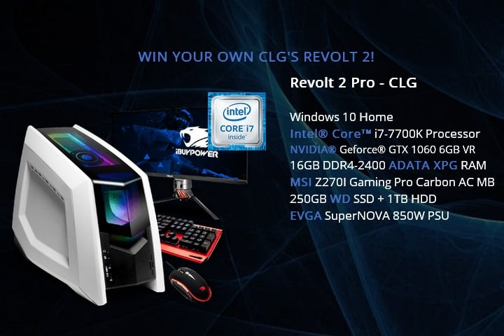 Win Revolt 2 PRO Gaming PC and Peripherals - #Giveaway (WW)