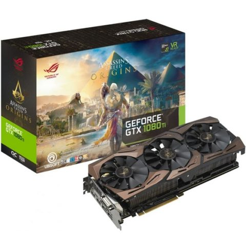 Win ROG Strix GTX 1080 Ti Assassin Creed Edition Graphics Card - #Giveaway (WW)