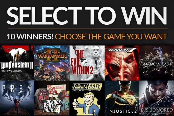 Win Computer Games of Your Choice - #Giveaway (WW)
