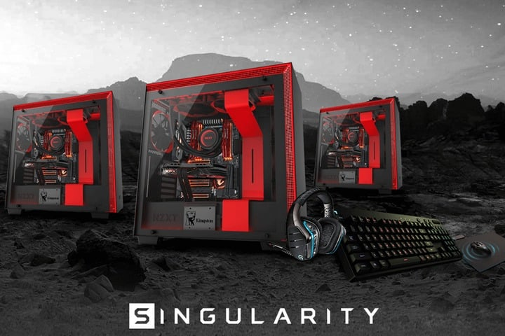 Win Singularity Custom Gaming PC - #Giveaway (WW)