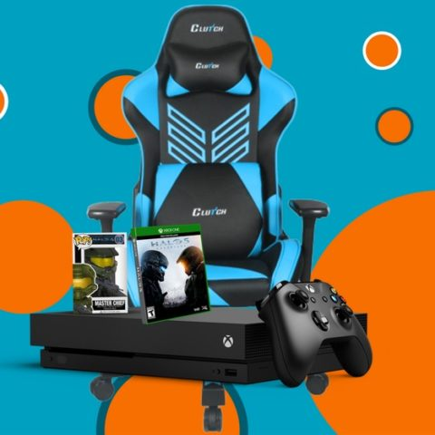 Win XBOX One X, Halo 5, and Gaming Chair - #Giveaway (WW)