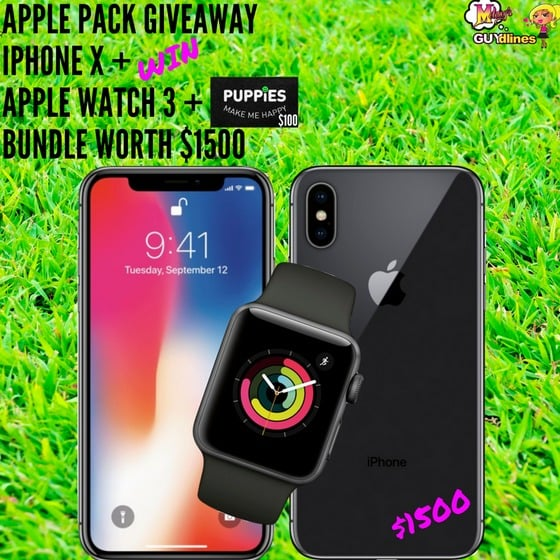 Win Apple Package #Giveaway (CA/US)