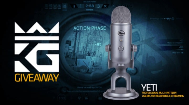 Win Blue Yeti Microphone #Giveaway (WW)