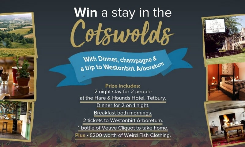Win Trip to Cotswolds in Westonbirt Arboretum #Giveaway (UK)