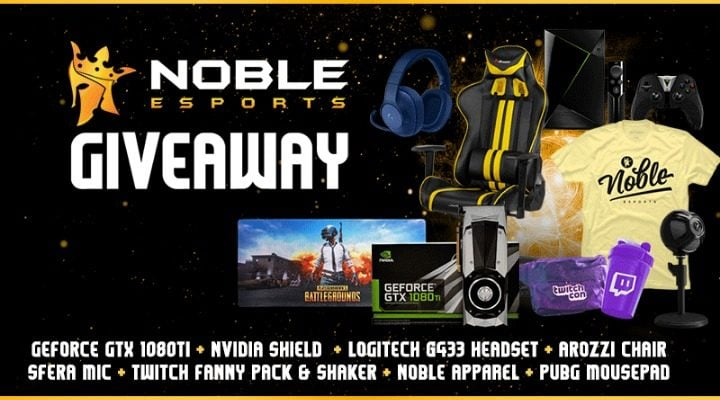 Win NOBLE Epic Year End - #Giveaway (WW)