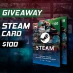 Win $100 Steam Gift Card #Giveaway (WW)