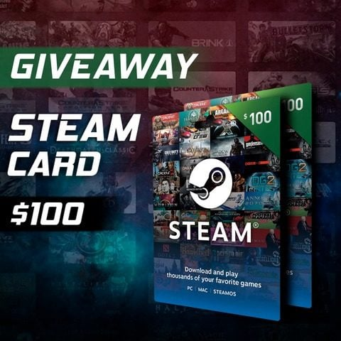 Win $100 Steam Gift Card #Giveaway