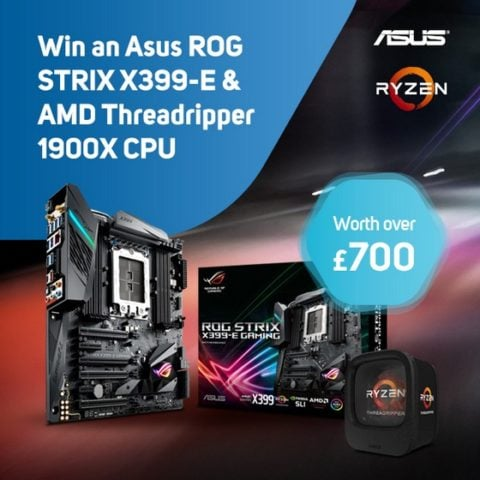 Win AMD Threadripper CPU & ASUS X399-E MoBo #Giveaway (WW)