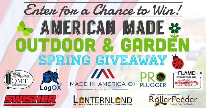 Win American Made Outdoor and Garden Products #Giveaway (US)