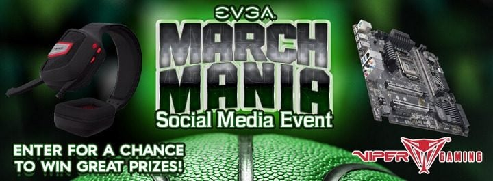 Win EVGA PC Components (March) #Giveaways (WW)