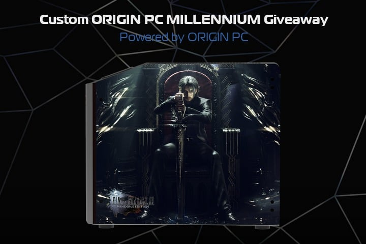 Win Final Fantasy XV Custom Gaming Desktop PC #Giveaway (US)