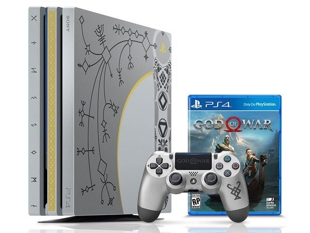 Win God of War PS4 Pro Console Bundle #Giveaways (WW)