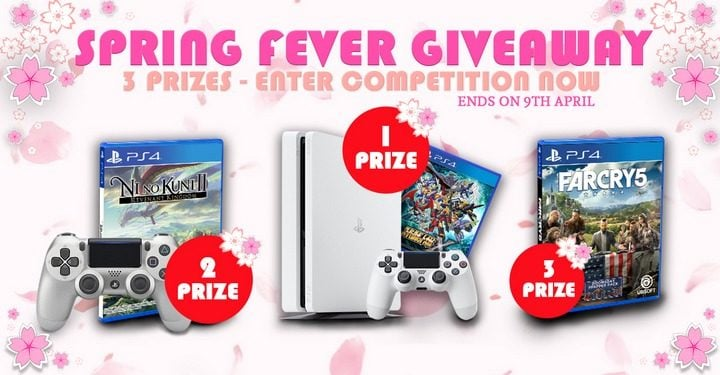 Win PS4 Console with Super Robot Wars X and more #Giveaways (WW)
