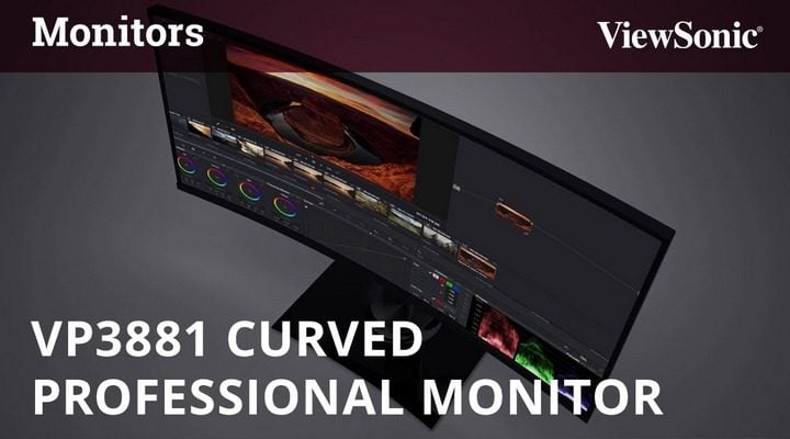Win ViewSonic VP3881 38inch Curve Monitor #Giveaway (WW)