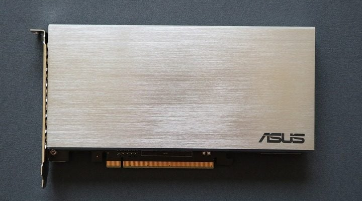 Win ASUS Hyper M.2 x16 Card #Giveaway (WW)