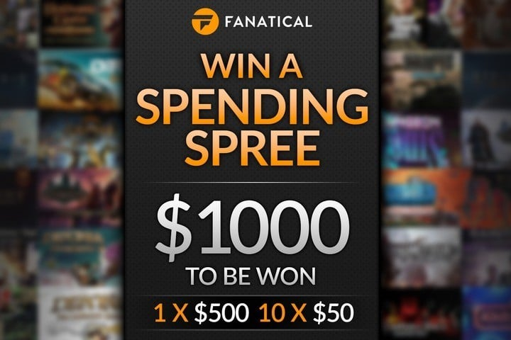Win $50 or $500 Fanatical Games Gift Card #Giveaway (WW)