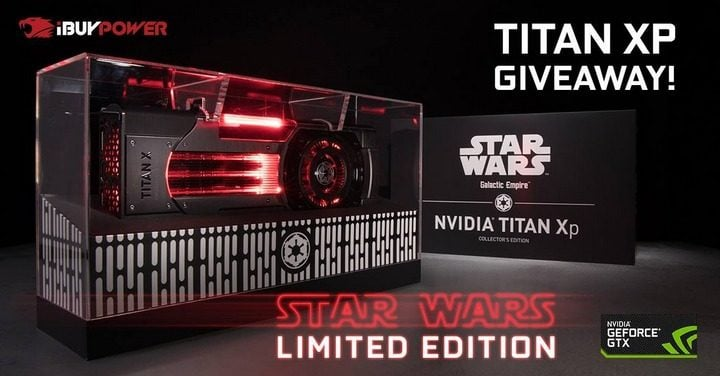 Win Nvidia Titan XP Star Wars Edition GPU #Giveaway (WW)