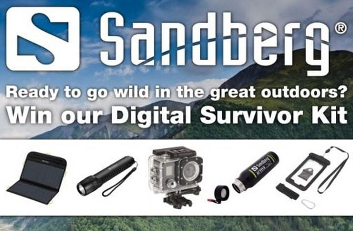 Win Sandberg Digital Survivor Kit #Giveaway (WW)
