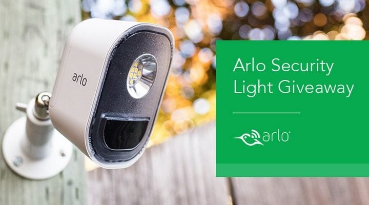 Win Arlo Security Light #Giveaway (US)