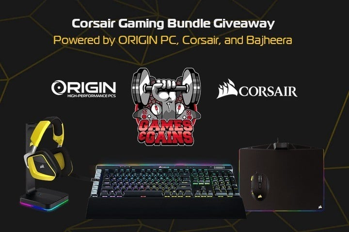 Win Corsair Gaming Bundle #Giveaway (WW)