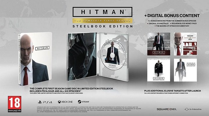 Win Hitman Steel Book Edition - Complete First Season (PS4) #Giveaway