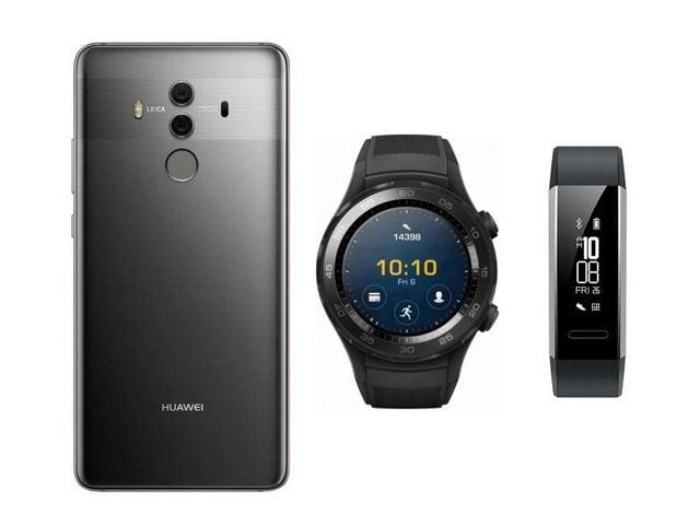 Win Huawei Mate 10 Pro, Watch 2 Sport, & Band 2 Pro #Giveaway (US)