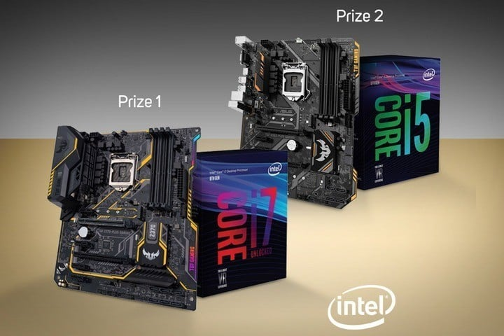 Win Intel CPU and Motherboard Computer Upgrade Bundle #Giveaways