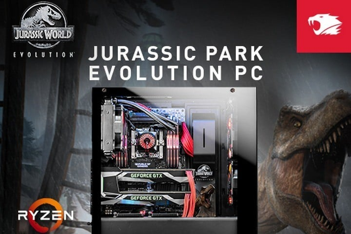 Win Jurassic World Evolution Gaming PC #Giveaway