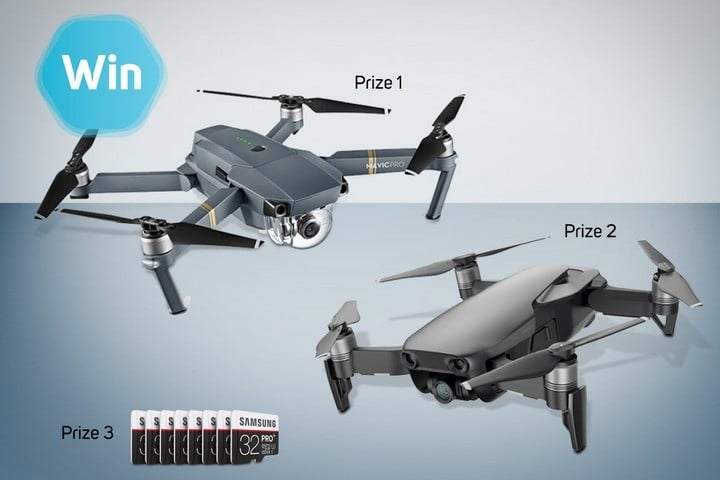 Win Mavic Pro Fly and Mavic Air Fly Drones #Giveaways