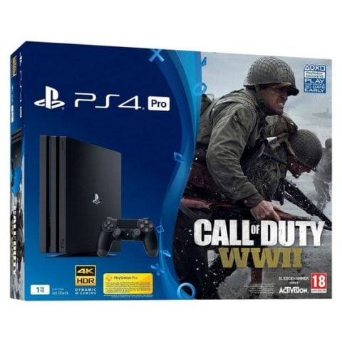 Win PS4 Pro with Call Of Duty WWII #Giveaway