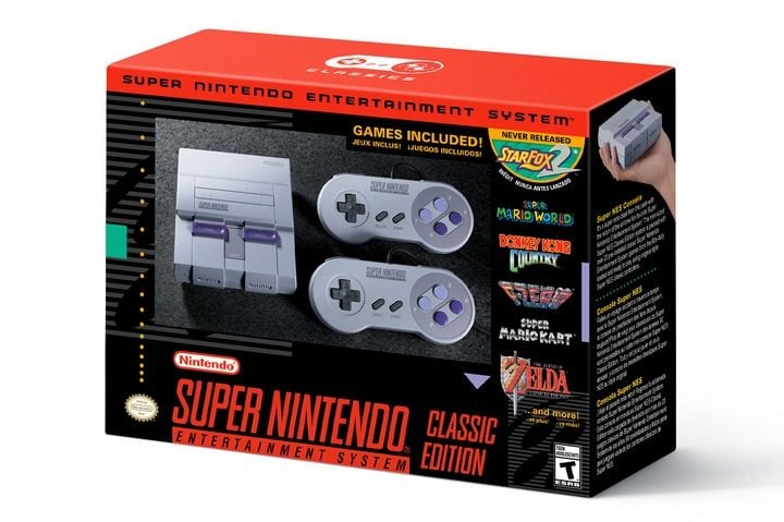 Win Super NES Classic with 20 Games #Giveaway