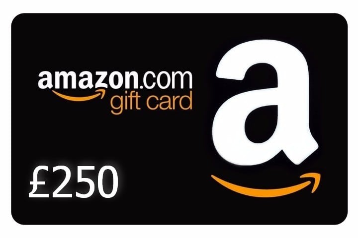Win £250 Amazon Gift Card #Giveaway