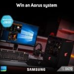 Win AORUS Gaming PC with Samsung NVMe SSD #Giveaway (WW)