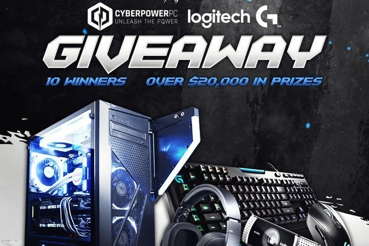 Win Logitech Peripherals and CyberPowerPC Gaming PC #Giveaway (WW)
