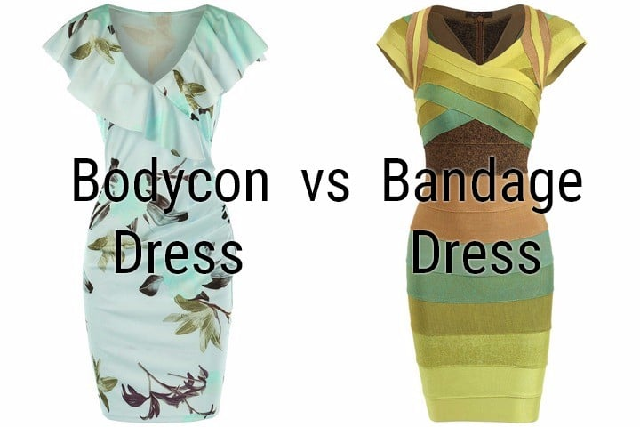 What is bandage dress and its difference to bodycon dress?