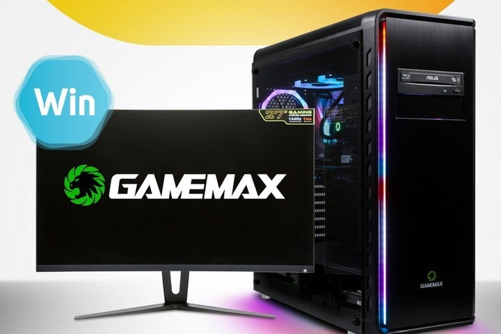 Game Max PC and Monitor