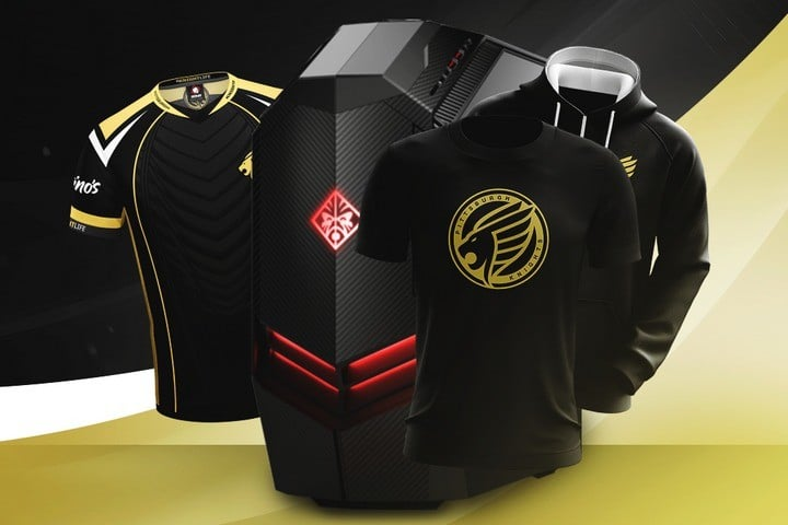 HP OMEN PC & Pittsburgh Knights Merch