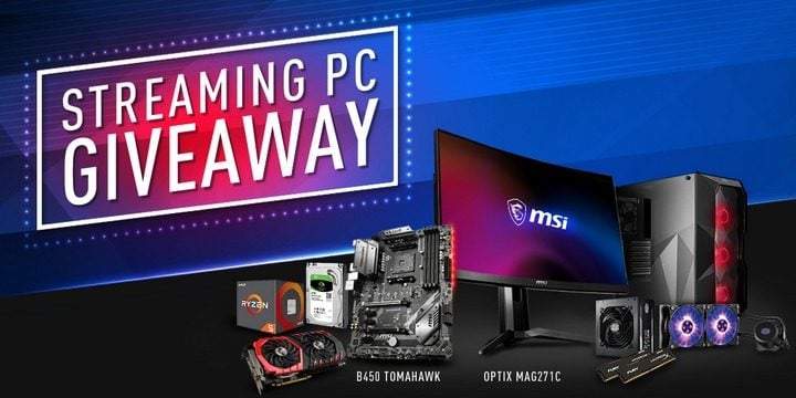 Win MSI Gaming Computer System #Giveaway (WW)