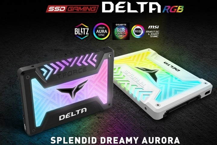 T-Force Delta 500GB RGB SSD