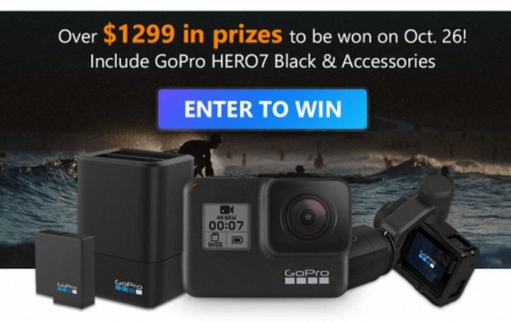 VideoProc GoPro Hero7 Black and Accessories