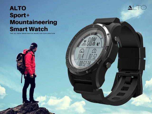 ALTO Sport Plus Mountaineering Smartwatch