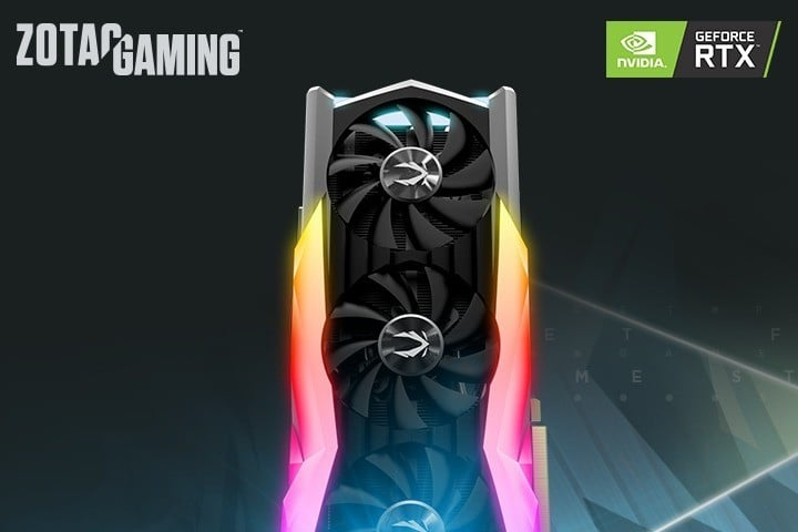 ZOTAC Gaming GeForce RTX 2080 AMP Extreme GPU