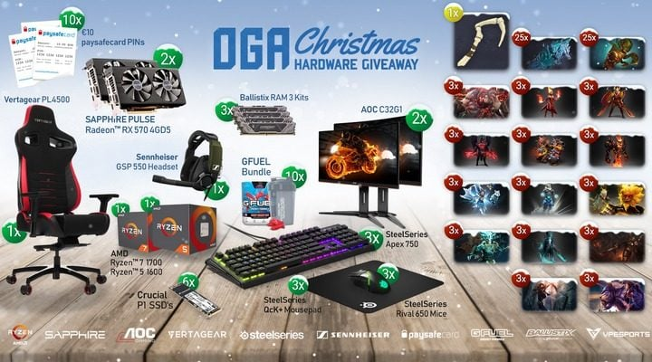 Win Ryzen CPU, Gaming GPU, Monitor and more #Giveaway (WW)