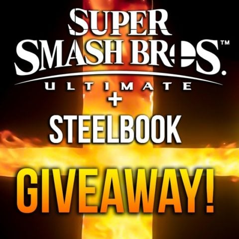 Win Super Smash Bros. Ultimate & Steelbook Cover #Giveaway (WW)