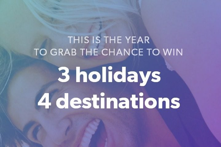 Win Three Holidays to Four Destinations #Giveaway (WW)