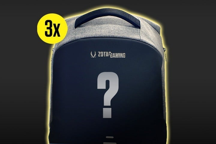 Win One of Three Zotac Mystery Backpack #Giveaway (WW)