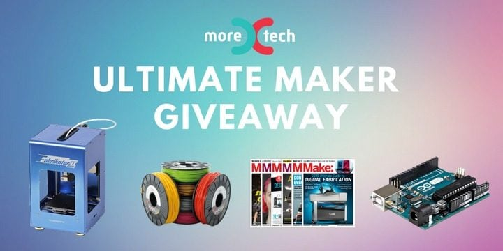 HobbyKing Mini Fabrikator V2 3D Printer and more Giveaways