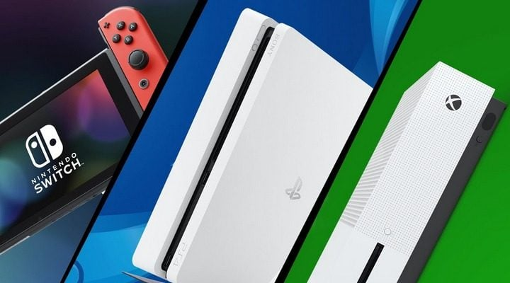 Playstation 4 Slim, XBOX One S, or Nintendo Switch