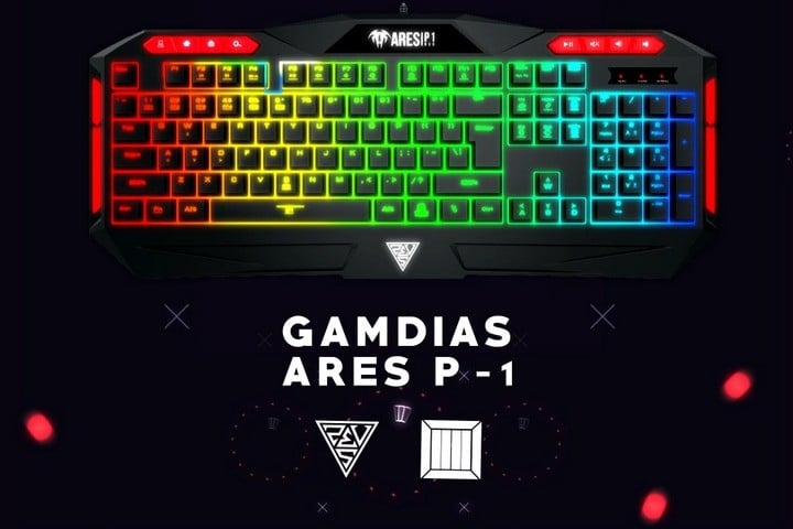Ares P1 RGB Gaming Keyboard